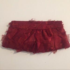 Lauren Merkin Fabric Clutch